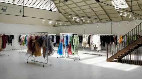 Paris-Showroom