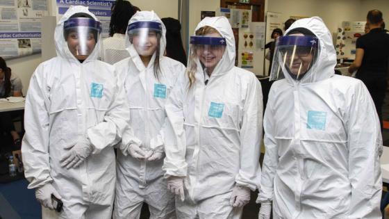 students-in-ppe-at-science4u