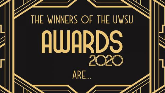 UWSU Awards winners poster