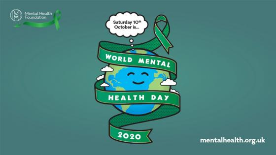 World Mental Health Day 2020 flyer