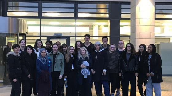 Westminster students at Broadmoor hospital visit