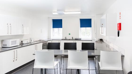 Alexander Fleming Hall kitchen
