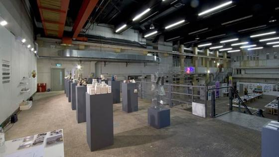 View of the Ambika P3 exhibition space