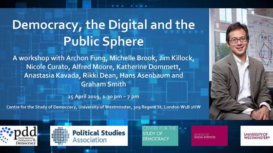 Democracy, the digital and public sphere workshop