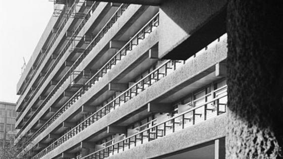Flats on the Barbican estate