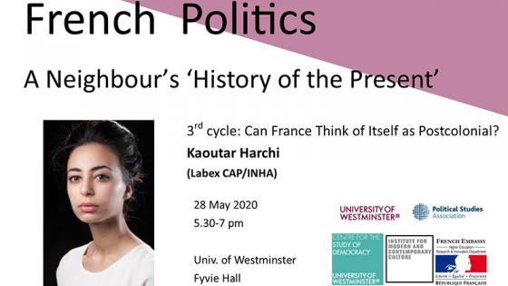 French Politics: A Neighbour's 'History of the Present' invites Kaoutar Harchi