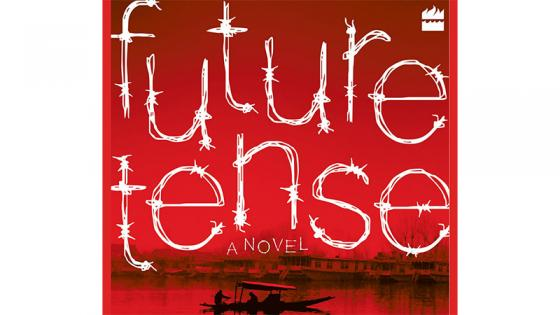 The cover of the novel Future Tense