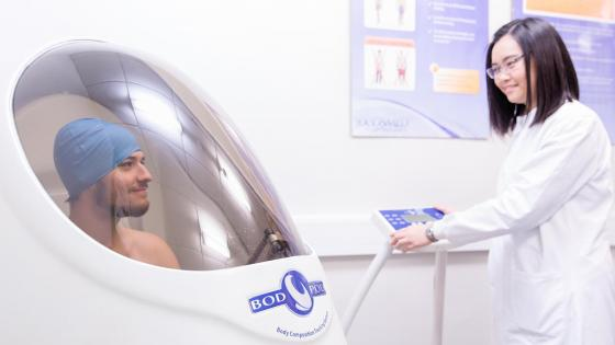 Health test bodpod