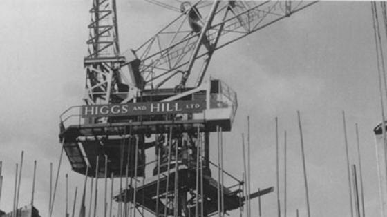 Higgs and hill crane