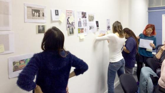 students-at-the-history-wall
