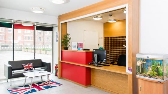 Marylebone Hall reception area
