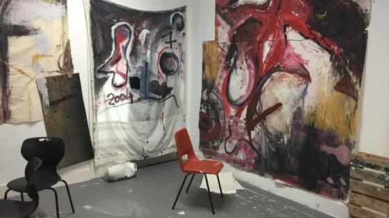 painting-in-art-studio