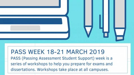 Pass Week will take place on 18–21 March 2019