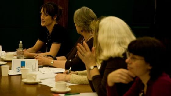People at AHRC workshop in December 2007