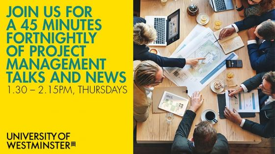 Project Management talks and news - Join us fortnightly