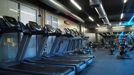 Regent Street gym cardio machines