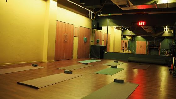 Regent Street gym yoga studio