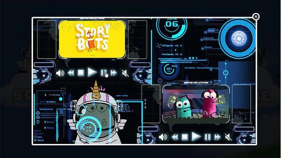 Space cows game-student work