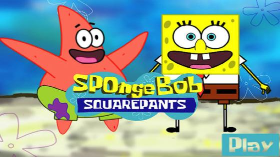SpongeBob Squarepants game - student work