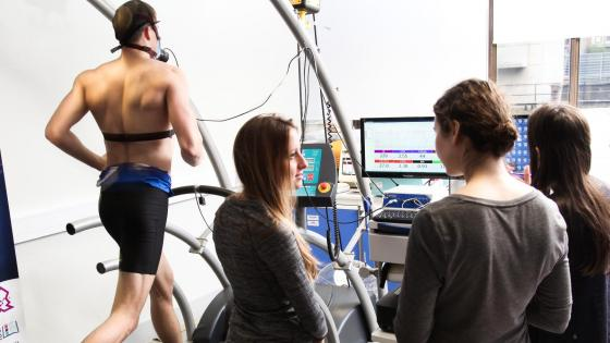 Physiology workshop assessing fitness