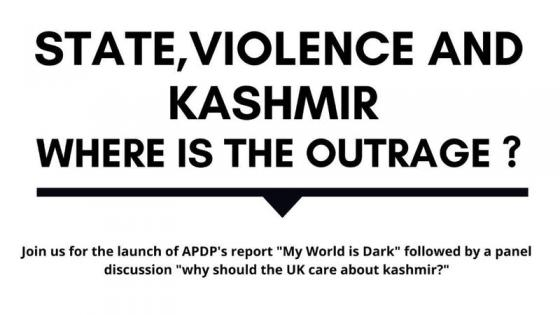 State, violence and Kashmir poster