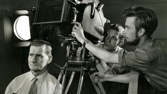 Film and TV Teaching at Regent Street Polytechnic. Source: University of Westminster Archives