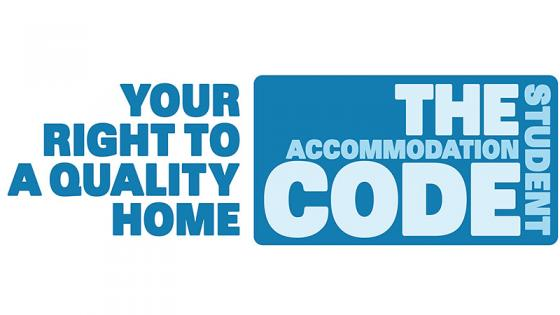 Your right to a quality home - The Student Accommodation Code logo