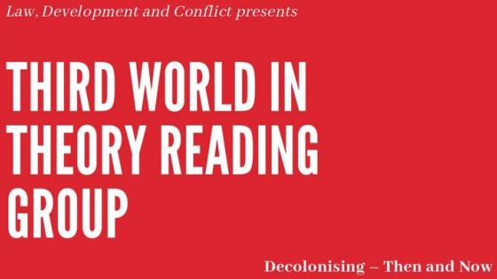 Third World in Theory Reading Group poster