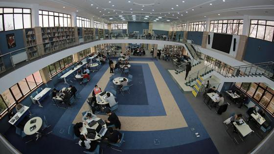 Westminster International University in Tashkent interior