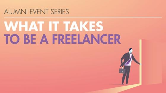 What it takes to be a freelancer event promotional image