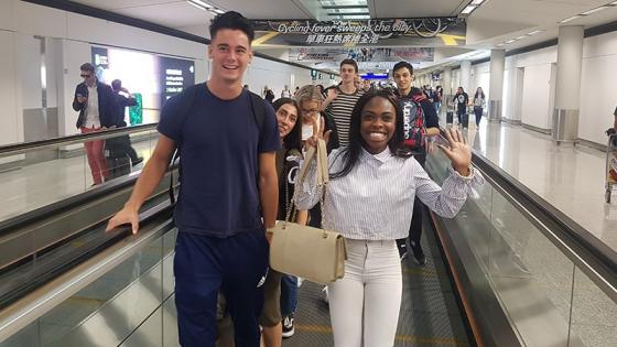 Students on the Westminster Working Cultures Programme in Hong Kong